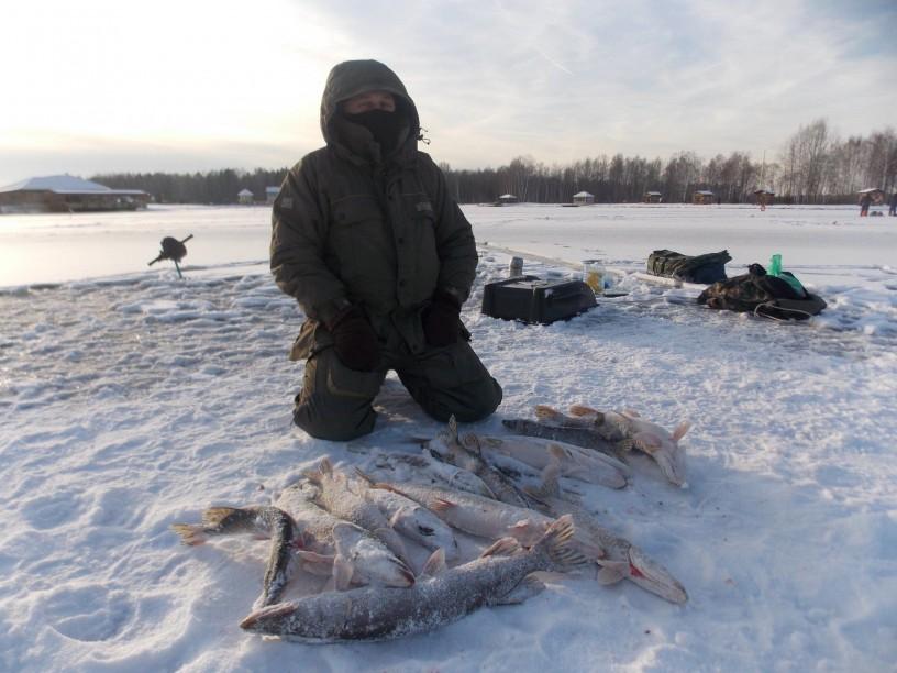 Зимния рыбалка в московской области